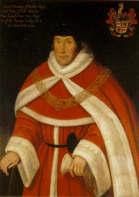 Sir Edward Montaqu, Chief Justice of the Common Pleas